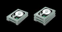 Récupérer des données sur grappe disque dur RAID sur serveur ou NAS
