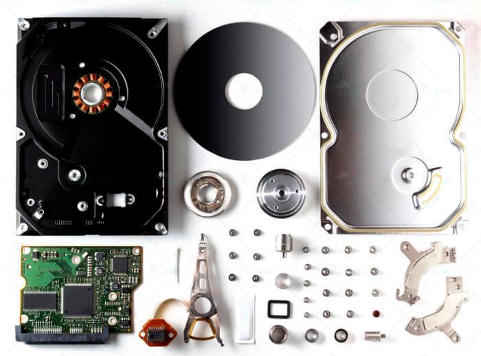 pièces détachées disque dur