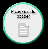 process réception de dossier