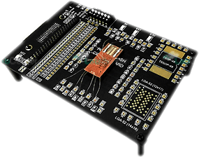 PCB, carte électronique puce mémoire