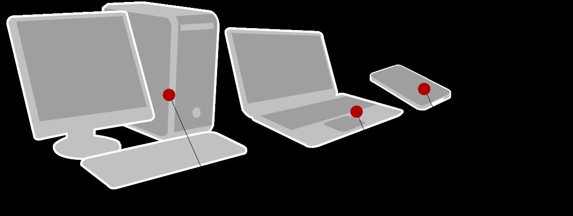 Schéma disque dur internet ou externe