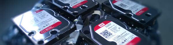 Récupération de données Disque Dur Western Digital WD40EFRX