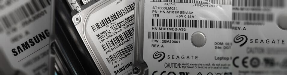 Récupération de données Disque dur Seagate ST1000LM024