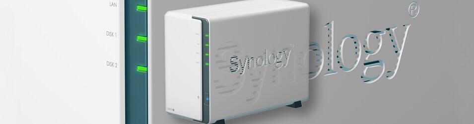 Zoom sur le modèle de boitier NAS Synology DS212J
