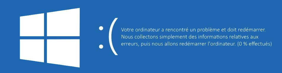Perte de données Windows 10