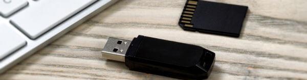 perte de données sur clé USB et carte mémoire