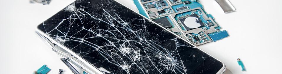 smartphone cassé et récupération de données