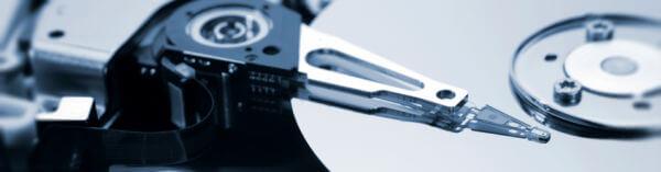 plateaux d'un disque dur