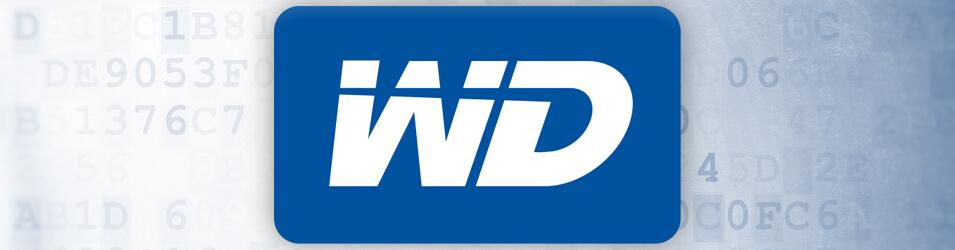 Les disques durs Western Digital