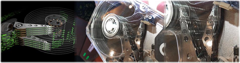 Disque dur Seagate Multiactuator