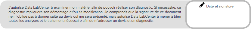 Data LabCenter dossier de prise en charge illustration 3