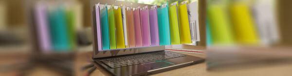 Stockage de données sur disque dur