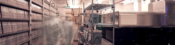 salle blanche réparation disque dur