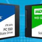 Western Digital SSD Green et Blue : l'entrée de gamme