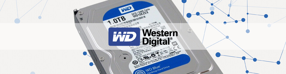 Récupération de données disque dur Western Digital