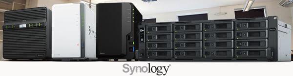 La gamme de serveurs NAS Synology