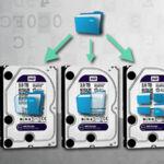 raid-5 informatique avec 3 disques durs